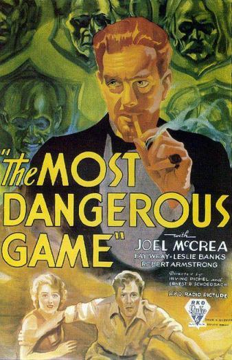 Affiche américaine de The Most Dangerous Game